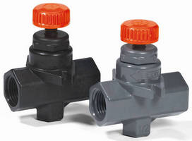 Needle Valve withstands harsh, corrosive environments.