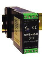DC-DC Converters operate with 12, 24, and 48 V inputs.