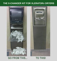 Replace Your Paper Towel Dispenser with the X-Changer Hand Dryer Kit