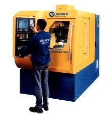 CNC Grinder utilizes peel grinding process.