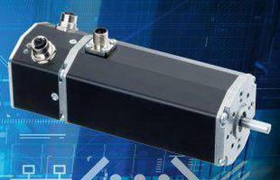 Brushless DC Servo Motors integrate EtherCAT interface.