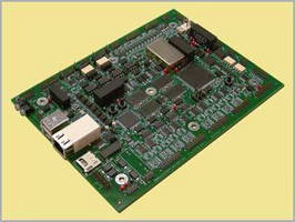 DAQ/Sensor Monitoring Board includes flow control.