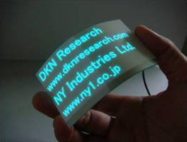 DKN Research Develops a Low Cost Flexible EL System Using a Screen-Printing Process
