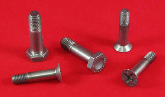 Titanium Bolts and Screws suit aerospace applications.