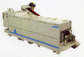 Finishing, Vibratory Machine Hoods keep noise under 85 dbA.