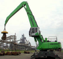 Heavy-Duty Material Handler performs lifting/loading jobs.