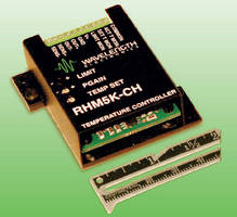 Temperature Controller offers less than 0.003°C stability.