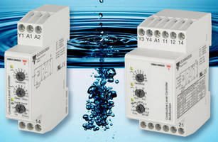 Conductive Liquid Level Controls monitor 2-4 level points.