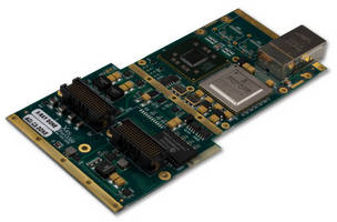 Ethernet XMC Module features dual 10 GbE interfaces.