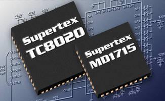 Ultrasound Driver Chipset enables high-resolution imaging.