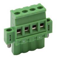 Vertical PCB Terminal Blocks include screw-locking feature.
