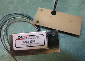 Strain Gage Signal Conditioner has various fixed gain options.
