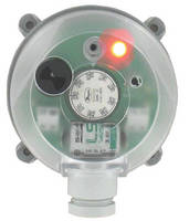 Differential Pressure Alarm features scaled adjustment knob.