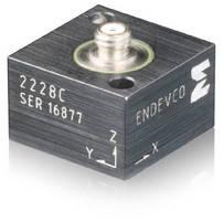 Piezoelectric Accelerometer features 2.8 pC/g sensitivity.
