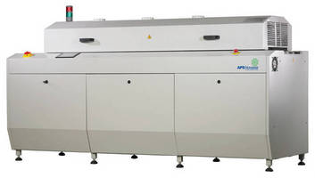 Reflow Soldering System suits small/medium volume production.