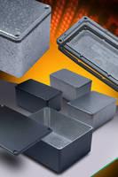 Die-Cast Aluminum Enclosures offer IP54/66 sealing options.