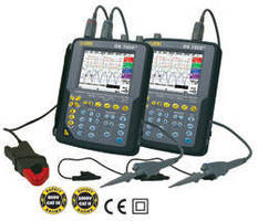 Handheld Oscilloscopes handle jobs in laboratory and field.