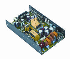 AC-DC Power Supplies target medical and industrial applications.