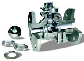 Metal Seat Ball Valves withstand severe conditions.