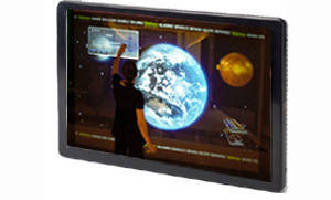 Touch Screen Monitors support digital signage applications.