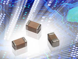 AVX'S Miniature 01005 MLCC Reduces Space Constraints, Provides Enhanced ESR Characteristics