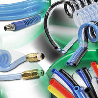 Pneumatic Tubing and Hose comes in straight and coiled styles.