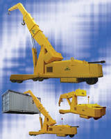 Walk-Behind Mobile Crane provides 50,000 lb capacity.