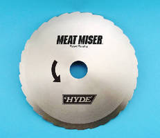 Food Processing Blades help minimize meat and poultry waste.