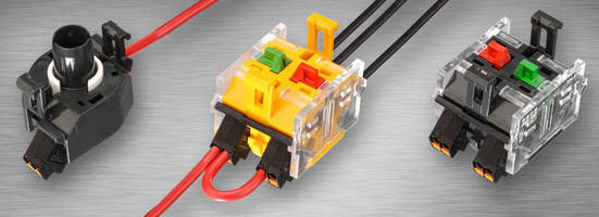 Push-In Wire Terminals offer fast, secure assembly.
