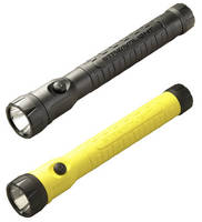 Rechargeable Flashlight operates safely in hazardous areas.