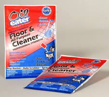 Floor Cleaner is available in 1.5 oz premeasured pouch.