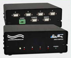 Four-Position Data Switch enables DB9 device sharing.