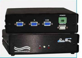 DB9 A/B Network Switch supports ASCII RS-232 remote control.