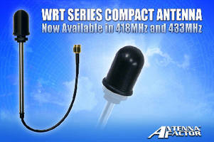 Tamper-Resistant Antennas come in 418 and 433 MHz models.