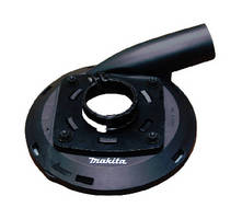 Rotary Hammer and Grinder Attachments contain dust in concrete applications.