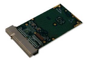 CompactPCI Carrier Card features single XMC/PMC site.