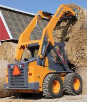 Skid Steer Loader has operating capacity of 3,300 lb.