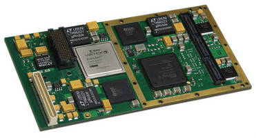 XMC Module with Spartan-6 FPGA targets embedded computing tasks.