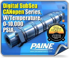 Pressure and Temperature Transducers suit subsea systems.