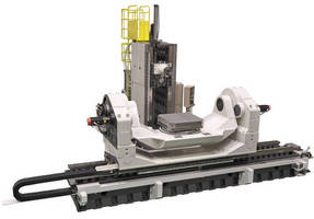 Large, 5-Axis HMC is suited for machining hard metals.
