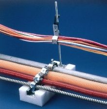 Cable and Piping Support is used in air handling spaces.