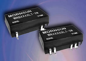 DC/DC Converters deliver 3 W of power.