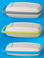 Three-Piece Enclosures house personal electronic devices.