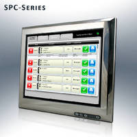 Fanless Touch Panel PC features IP65 stainless steel chassis.