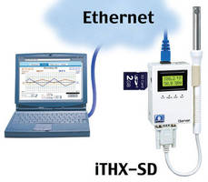 Virtual Chart Recorder enables remote temperature/RH monitoring.