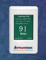 Fume Hood Controller displays face velocity.