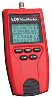 Cable Tester combines continuity testing, mapping, and tone generator.