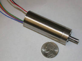 Slotless Brushless DC Motors feature autoclavable design.