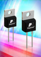 Power Conversion Diodes offer high efficiency and low EMI.