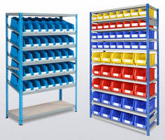 Storage Rack supports lean manufacturing operations.